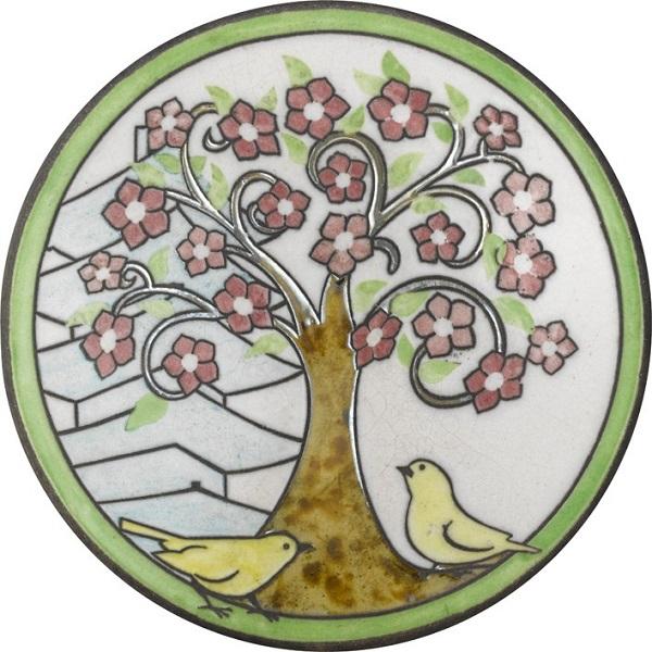 陶器の温かさとイタリアンアートに溢れる飾り皿! アントニオ・ザッカレラD001陶器飾り皿 ZD001-013【楽ギフ_のし】【楽ギフ_メッセ入力】【楽ギフ_名入れ】