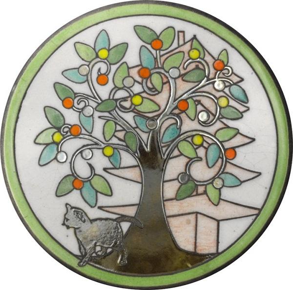 陶器の温かさとイタリアンアートに溢れる飾り皿! アントニオ・ザッカレラD002陶器飾り皿 ZD002-005【楽ギフ_のし】【楽ギフ_メッセ入力】【楽ギフ_名入れ】