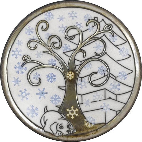 陶器の温かさとイタリアンアートに溢れる飾り皿! アントニオ・ザッカレラD004陶器飾り皿 ZD004-003【楽ギフ_のし】【楽ギフ_メッセ入力】【楽ギフ_名入れ】