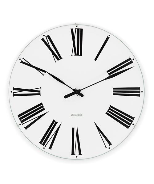 アルネ・ヤコブセン掛け時計  ARNE JACOBSEN Wall Clock ローマンクロック  290mm 43642 壁掛け時計