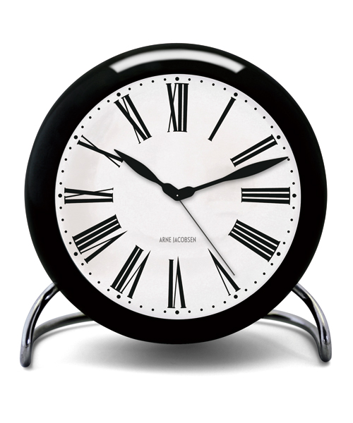 アルネ・ヤコブセン置き時計 ARNE JACOBSEN Table Clock Roman  43671 ROSENDAHL