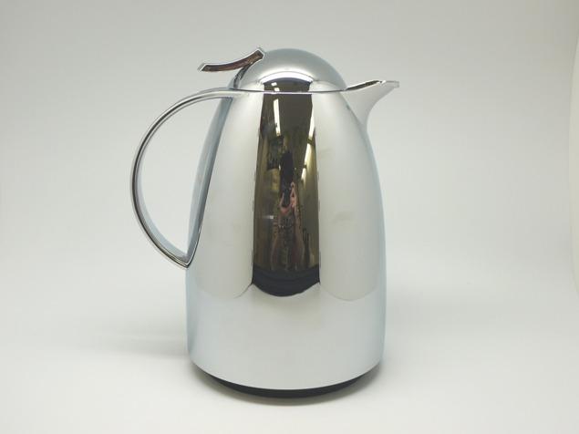 emsaエムザ バキュームジャグ魔法瓶 AUBERGE(オウバージュ) クローム 1.00L ドイツ製