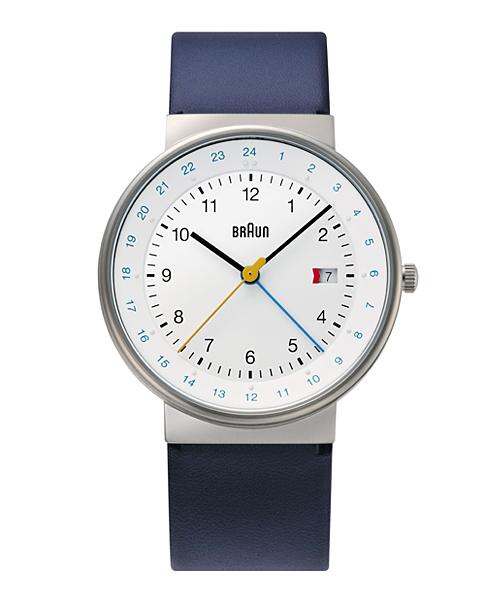 【日本正規代理店品】 ブラウンBRAUN腕時計 GMT 10220 Watch BN0142WHBLG