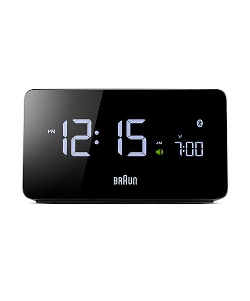 【日本正規代理店品】 ブラウンBRAUNデジタルアラームクロック  BNC020BK 目覚まし時計 置き時計