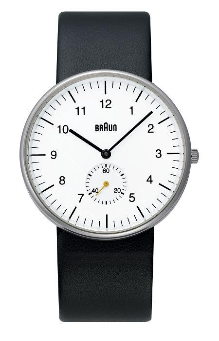 ブラウン腕時計【日本正規代理店品】BRAUN腕時計 リストウォッチ BNH0024WHBKG