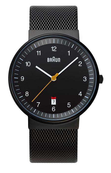 【日本正規代理店品】BRAUN腕時計 リストウォッチ  BNH0032BKBKMHG ブラウン腕時計