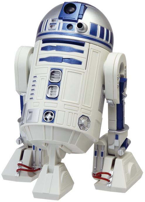 スターウォーズ STAR WARS R2-D2アラームクロック 8ZDA21BZ03 リズム時計【ポイント消化】