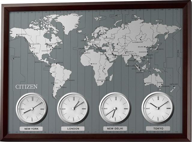 auccecicela Rakuten Global Market 4MWA01006 world clock