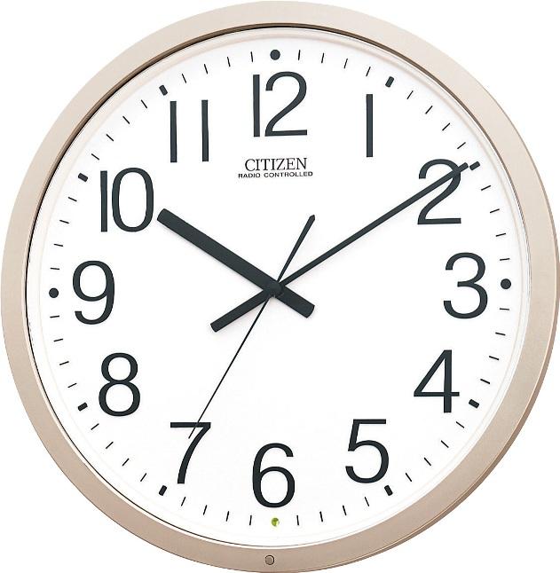 シチズン掛け時計 電波掛け時計 オフィス時計 パルウェーブM603B 4MY603-B19 CITIZEN掛け時計