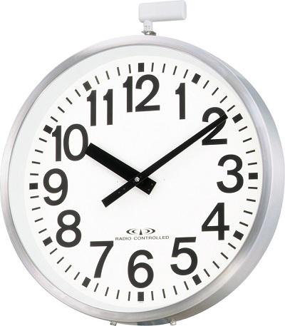 掛け時計 屋外 JIS防雨タイプ 大型 電波掛け時計 エリア700N 4MY698-A19 リズム時計 シチズン時計