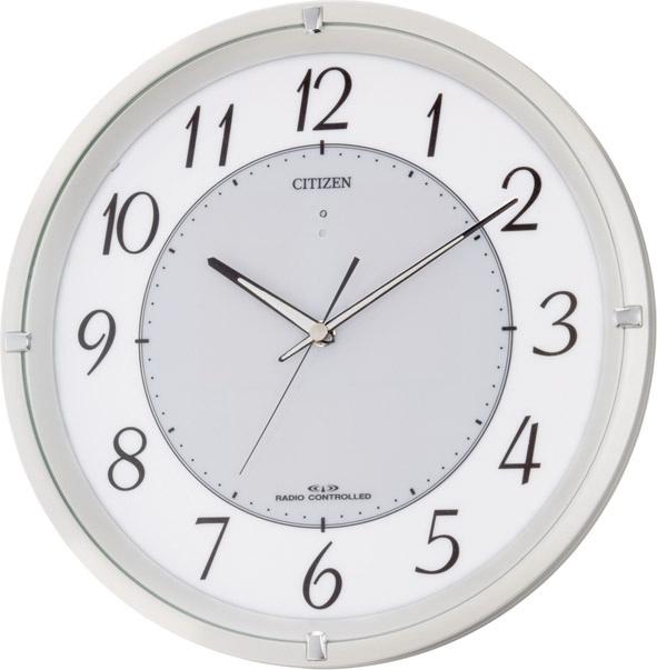 シチズン掛け時計 電波掛け時計4MY788-003 エコライフ M788 シチズン時計 CITIZEN掛け時計