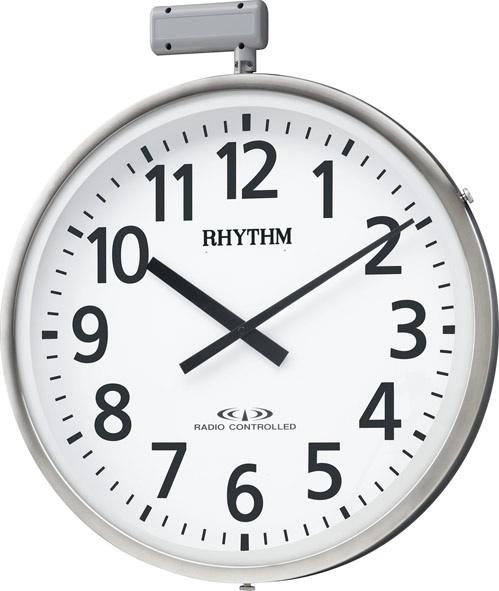 掛け時計 シチズン 大型掛 屋外 電波掛け時計 ムーンライトN 4MY812RH19 ポールφ80~100mm シチズン時計 CITIZEN掛け時計 名入れ