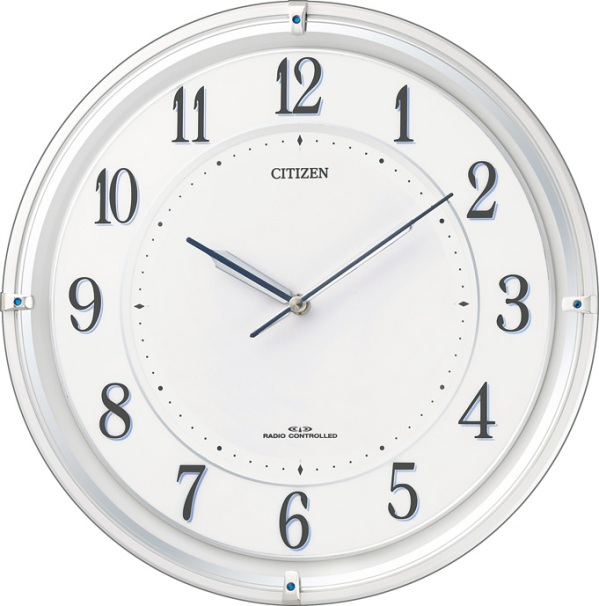 シチズン掛け時計 電波掛け時計4MY817-003 サイレントソーラーM817 シチズン時計 CITIZEN掛け時計