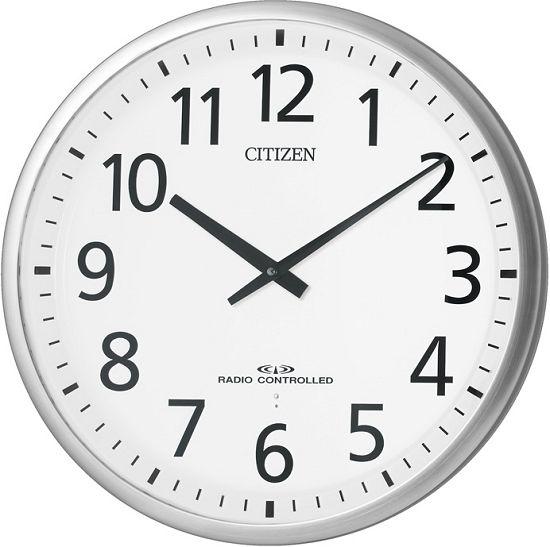 掛け時計 シチズン 大型 電波掛け時計 オフィス CITIZEN スリーウェイブM821 4MY821-019 グリーン購入法適合 CITIZEN掛け時計 名入れ 文字入れ お洒落