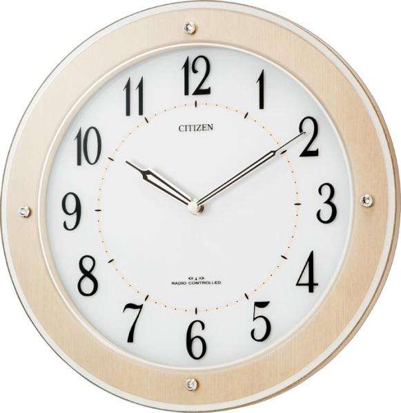 シチズン時計 電波掛け時計  4MY825-006 サイレントソーラーM825  グリーン購入法適合 CITIZEN掛け時計