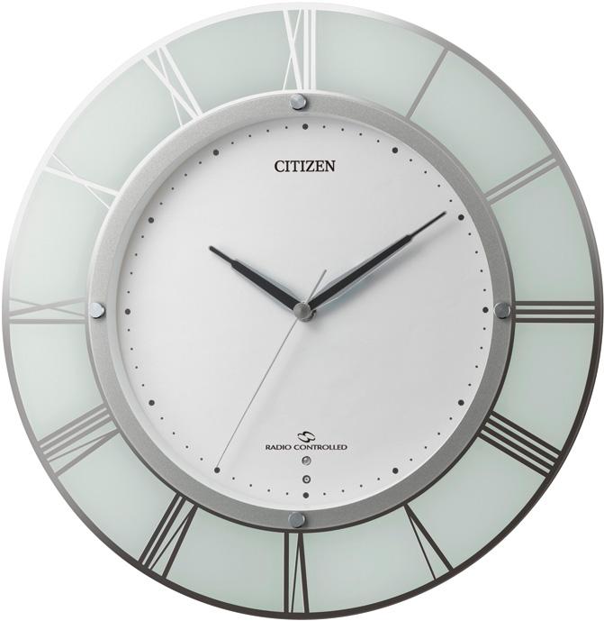 CITIZEN掛け時計 高性能スリーウェイブ! 電波掛け時計4MY830-003 スリーウェイブM830 シチズン時計 グリーン購入法適合