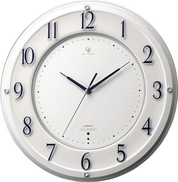 シンプルでスタイリッシュな掛け時計 ハイグレード RHG-T001 掛け時計 リズム時計 壁掛け時計 4MY832HG03 名入れ無料サービス【楽ギフ_のし】【楽ギフ_メッセ入力】【楽ギフ_名入れ】