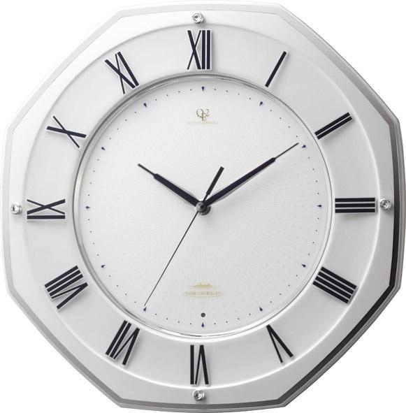 掛け時計 シンプル スタイリッシュ ハイグレード RHG-T002 リズム時計 壁掛け時計 4MY833HG03 名入れ無料サービス【楽ギフ_のし】【楽ギフ_メッセ入力】【楽ギフ_名入れ】