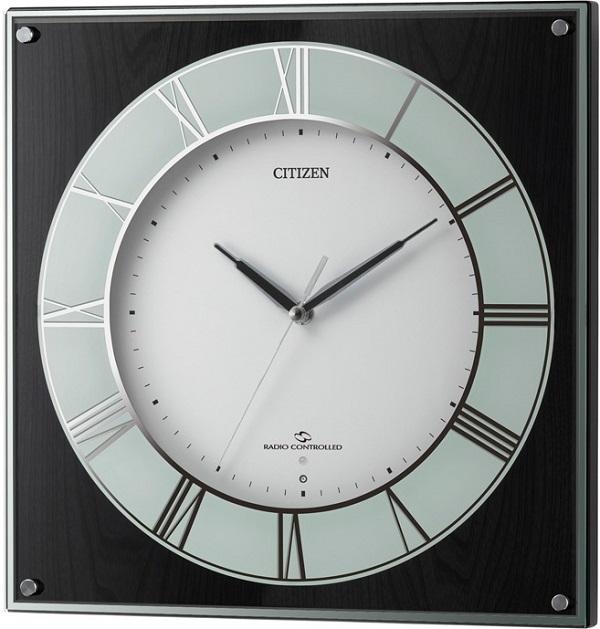 CITIZEN掛け時計 シチズン時計 電波掛け時計 4MY838-002 スリーウェイブM838 グリーン購入法適合