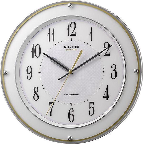 電波掛け時計 ミレディサヤカ 8MY510SR03  リズム時計