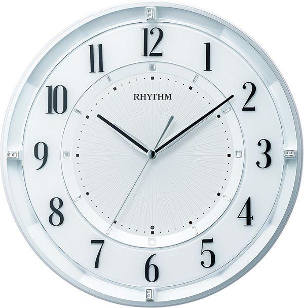 シンプルでスタイリッシュな掛け時計 フィットウェーブクール551  掛け時計 リズム時計 壁掛け時計 8MY551SR03 無料名入れ【楽ギフ_のし】【楽ギフ_メッセ入力】【楽ギフ_名入れ】