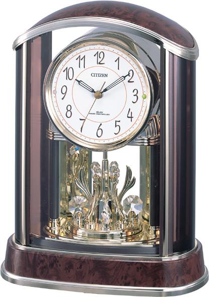 置き時計 パルアモールR658 4RY658-023 シチズン時計  【楽ギフ_のし】【楽ギフ_メッセ入力】【楽ギフ_名入れ】