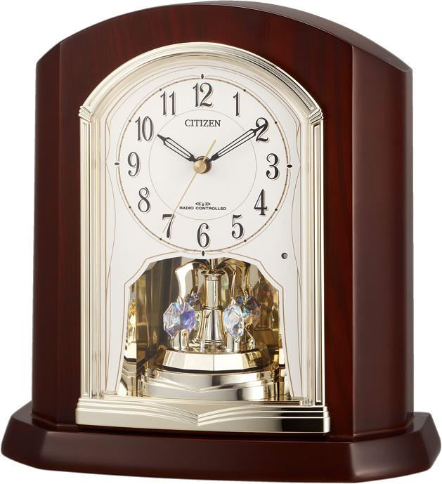 置き時計 4RY702SR06 シチズン置き時計  【楽ギフ_のし】【楽ギフ_メッセ入力】【楽ギフ_名入れ】