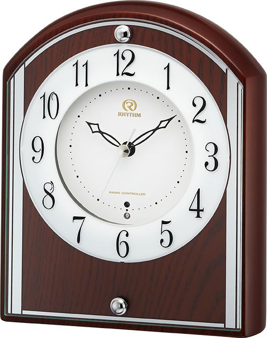シンプルでスマート!置き時計 RHG-S78 4RY704HG06 リズム時計  【楽ギフ_のし】【楽ギフ_メッセ入力】【楽ギフ_名入れ】