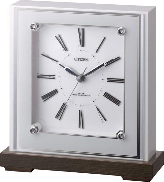 スタイリッシュな置き時計 マリアージュ706  4RY706-003 シチズン時計  【楽ギフ_のし】【楽ギフ_メッセ入力】【楽ギフ_名入れ】