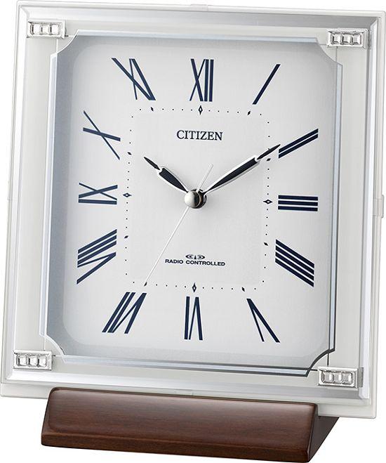 スタイリッシュな置き掛け兼用時計  4RY712-003 シチズン時計  【楽ギフ_のし】【楽ギフ_メッセ入力】【楽ギフ_名入れ】