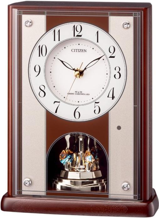 置き時計 パルロワイエR411 8RY411-006  シチズン時計  【楽ギフ_のし】【楽ギフ_メッセ入力】【楽ギフ_名入れ】