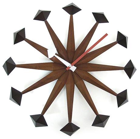 ジョージネルソン 掛け時計 Polygon クロック GN216 GeorgeNelson