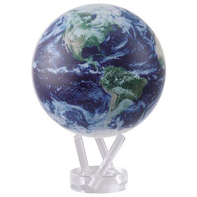 ゆっくりと回り続ける不思議な地球儀 6