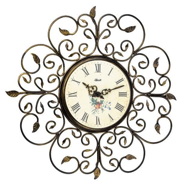 ヘルムレ掛け時計 Roses 30897-002100 アンティーク調掛け時計【送料無料】 HERMLE掛け時計