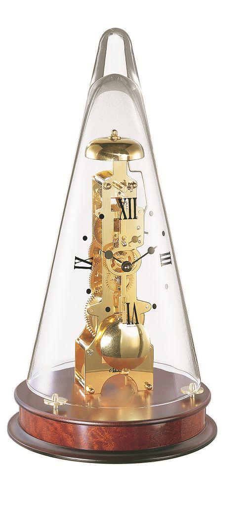 ヘルムレ HERMLE 置き時計 機械式 Leyton マホガニーブラウン 22716-070791 ヘルムレ置き時計