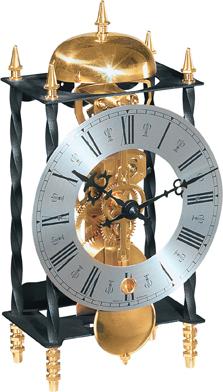 ヘルムレHERMLE置き時計 Galahad2  22734-000701 機械式置時計 ヘルムレ置き時計