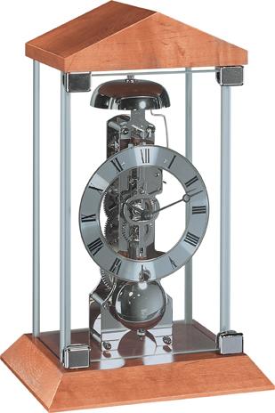 ヘルムレ(HERMLE)置き時計 機械式 Barkingsideナチュラルブラウン 22786-320791