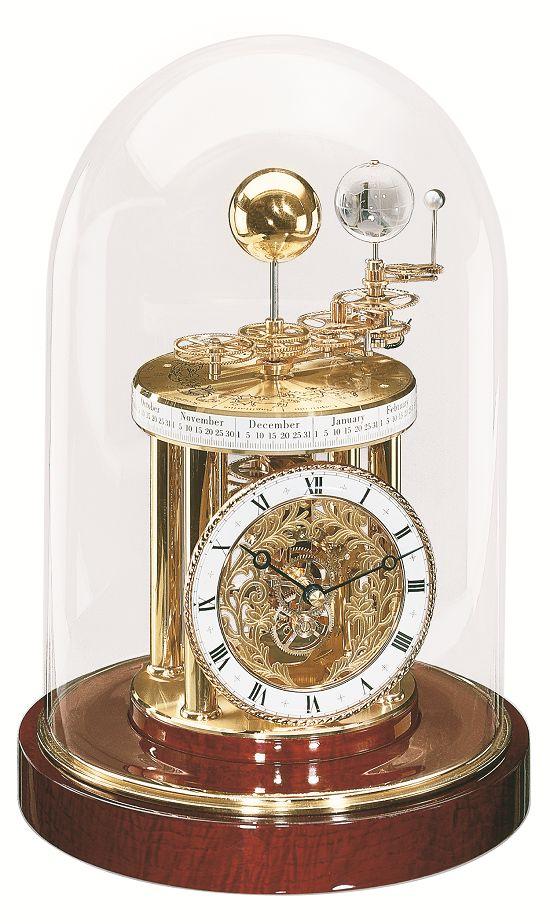 魅力的な三球儀付きの置き時計!ヘルムレ(HERMLE)置き時計  22836-072987