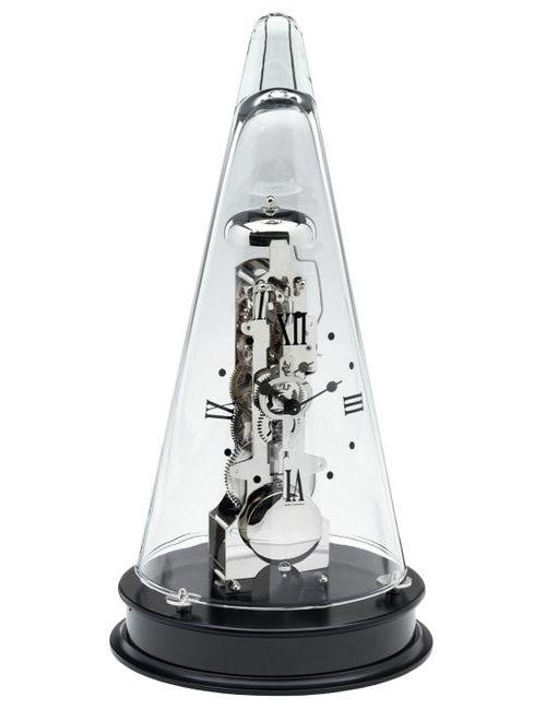 ヘルムレ HERMLE 置き時計 機械式 振り子置き時計 ブラック 22995-740791 ヘルムレ置き時計