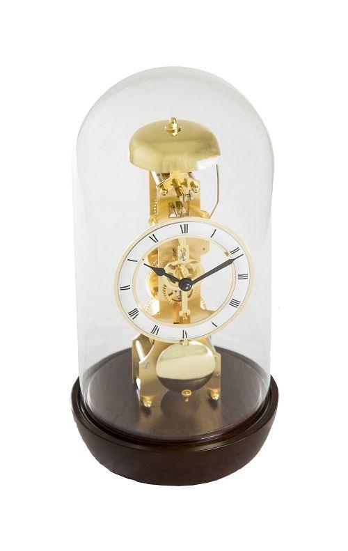 ヘルムレ HERMLE 置き時計 機械式 報時振り子置き時計 23018-030791 スケルトンムーブメント