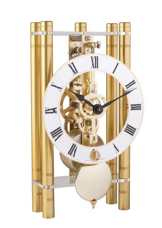 モダンなムーブメントが見えるスケルトンデザイン!ヘルムレ(HERMLE)置き時計  機械式テーブルクロック 23020-500721