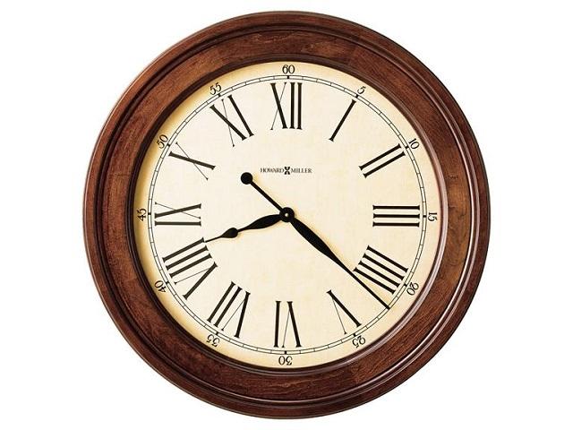 アンティーク調でお洒落!ハワード・ミラーHoward Miller社製掛け時計 GRADD AMERICANA 620-242