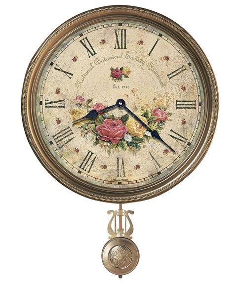 Howard Miller掛け時計 ハワードミラー振り子掛け時計 Savannah Botanical VII 620-440