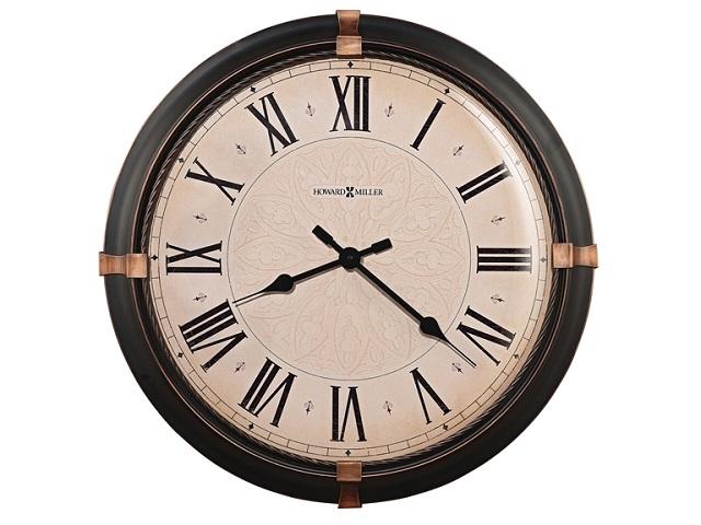 アンティーク調でお洒落!ハワード・ミラーHoward Miller社製大型掛け時計 ATWATER 625-498
