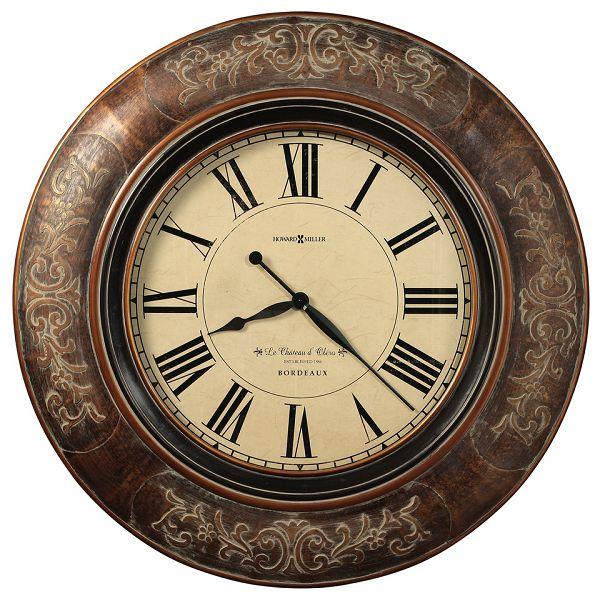 アンティーク調でお洒落!ハワード・ミラーHoward Miller社製掛け時計 Le Chateau 625-535 大型掛け時計