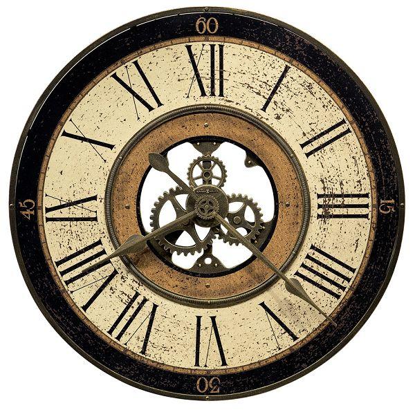 アンティーク調でお洒落!ハワード・ミラーHoward Miller社製掛け時計 Brass Works 625-542 大型掛け時計