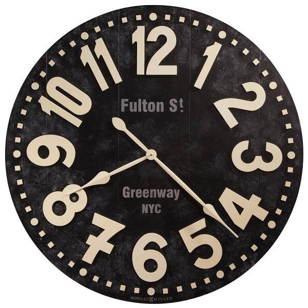 アンティーク調でお洒落!ハワード・ミラーHoward Miller社製掛け時計 Fulton Street 625-557 大型掛け時計