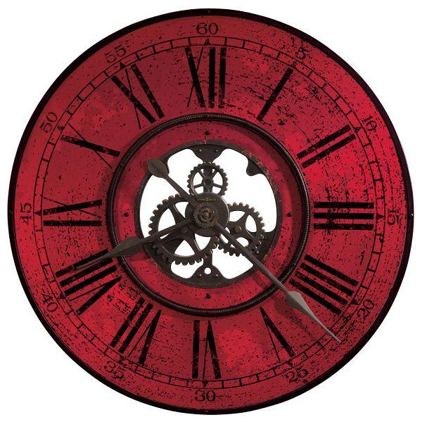 アンティーク調でお洒落!ハワード・ミラーHoward Miller社製掛け時計 Brassworks II 625-569 大型掛け時計