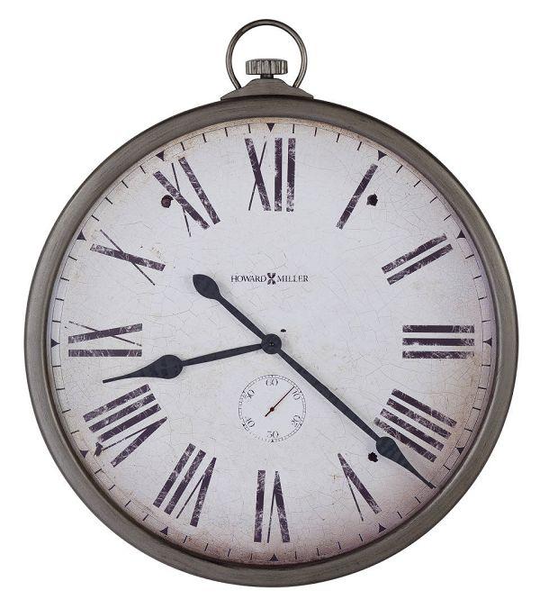 アンティーク調でお洒落!ハワード・ミラーHoward Miller社製掛け時計 Gallery Pocket Watch 625-572 大型掛け時計