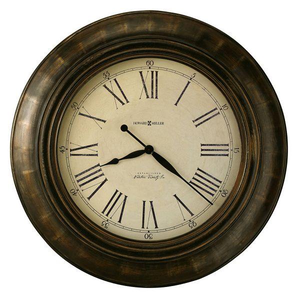 アンティーク調でお洒落!ハワード・ミラーHoward Miller社製掛け時計 Brohman 625-618 大型掛け時計